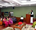 Venkaiah Naidu meets students on Children's Day