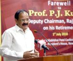 Farwell programme organised for outgoing Rajya Sabha Deputy Chairperson P.J. Kurien