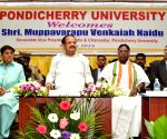 Puducherry : Venkaiah Naidu at Pondicherry University