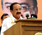 Venkaiah Naidu addresses first Arun Jaitley Memorial Lecture at DU