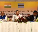 Venkaiah Naidu at India-Botswana CEOs Round-table