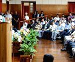 Venkaiah Naidu visits IISc