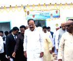 """Gadag (Karnataka) : Vice President M Venkaiah Naidu inaugurating """"Swachhta Hi Seva"""""""