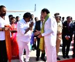 Venkaiah Naidu leaves after three-day visit