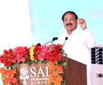 Venkaiah Naidu at SAI International School