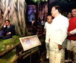 Venkaiah Naidu visits Dr. Ambedkar National Memorial