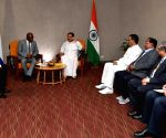 Venkaiah Naidu meets Acting Speaker of Sierra Leone's National Assembly