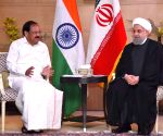Vice President Naidu meets Iranian President Hassan Rouhani