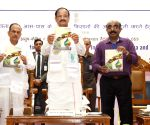 Venkaiah Naidu visits an Exhibition on Agriculture at CRIDA