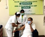 Free Photo: Chennai: Vice President Naidu takes home-grown jab in Chennai