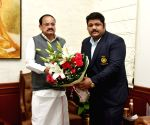 Vice-President Naidu congratulates powerlifter Gaurav Sharma