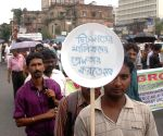 Chit fund scam victims protest against WB Govt.