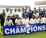 Vidarbha clinches Irani Cup title