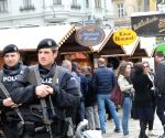 AUSTRIA VIENNA EASTER MARKET SECURITY