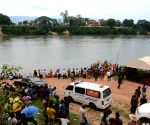 LAOS VIENTIANE FERRY ACCIDENT