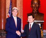 VIETNAM HANOI U.S. KERRY VISIT