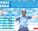 Vijay Hazare Trophy: Shaw shatters records on way to 152-ball 227