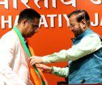Vijay Singh Bainsla joins BJP