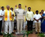 Modi, KCR, Jagan blocking Andhra's development: Naidu