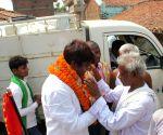 Khagaria (Bihar): Mukesh Sahni during a roadshow
