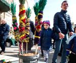 LITHUANIA VILNIUS PALM SUNDAY
