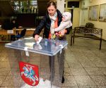 LITHUANIA VILNIUS PARLIAMENTARY ELECTIONS VOTING