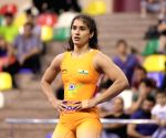 Vinesh Phogat wins bronze at World C'ships, secures Oly spot