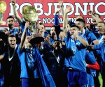 CROATIA VINKOVIC FOOTBALL GNK DINAMO CROATIAN FOOTBALL CUP