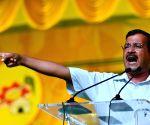 My aim is to defeat corruption, take Delhi forward: Kejriwal