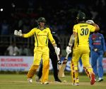 1st T20I: Australia edge past India by three wickets in thrilling contest