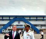 US Defence Secretary arrives in Vishakhapatnam