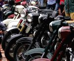 Antique motorbike show