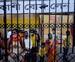 Community puja pandal at Kashi Bose Lane