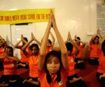 International Yoga Day - Visually impaired students