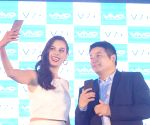 Launch of Vivo V7+ smartphone-  Evelyn Sharma and Kent Cheng