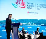 RUSSIA-VLADIVOSTOK-EASTERN ECONOMIC FORUM-PLENARY SESSION