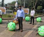 New Delhi DM launches joint awareness campaign on COVID-19 & Pollution