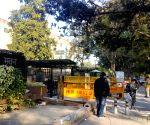 Free Photo: Low turnout at Nirman Bhawan polling booth