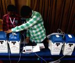 Chennai: 2019 Lok Sabha elections - VVPAT machines being checked by election officials