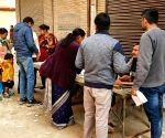 Delhi Polls 2020 - Voting underway at Dwarka