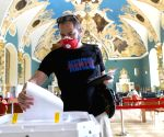 Russia's ruling party retains majority in lower parliament house