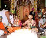 Yaduveer Krishnadatta Chamaraja Wadiyar's wedding