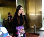 Warina Hussain seen at Airport