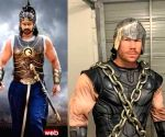 Warner dresses up like Baahubali in fun social media post