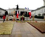 POLAND WARSAW PLANE CRASH ANNIVERSARY