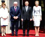 POLAND WARSAW GERMAN PRESIDENT VISIT