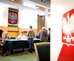 POLAND-WARSAW-EU PARLIAMENT ELECTIONS