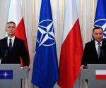 POLAND WARSAW NATO VISIT