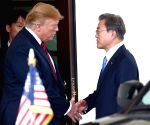 U.S. WASHINGTON D.C. PRESIDENT SOUTH KOREA PRESIDENT MEETING