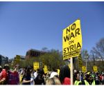 U.S. WASHINGTON D.C. STRIKE SYRIA PROTEST